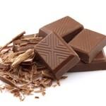 čokoláda - vysoká energetická hodnota