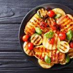 Kuracie filety grilované so zeleninou