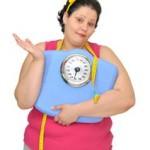 obezita, nadváha - žena