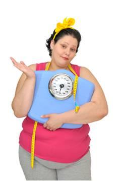 tučná žena