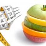 zdravé chudnutie - jablko a meter