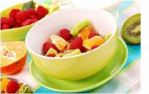 jedálniček na chudnutie - ovocie