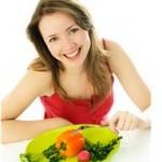 chudnutie a diéta - žena