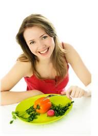 zdravá strava - žena