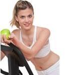 žena - ideálna váha