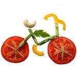 bicykel zo zeleniny