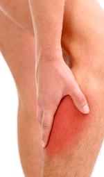 bolest svalov, noh