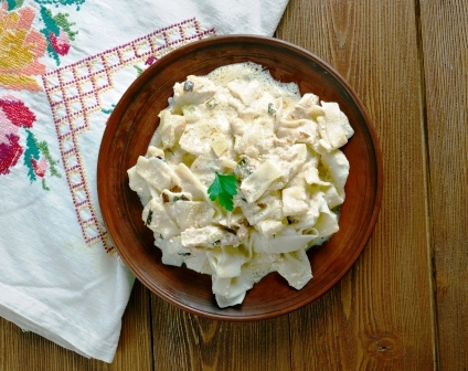 cestoviny s bryndzou a tofu