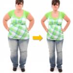 chudnutie žena - pred a po