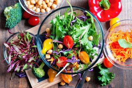 chudnutie do leta zeleninovy salat