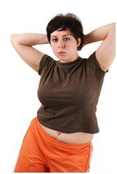 chudnutie tučná žena