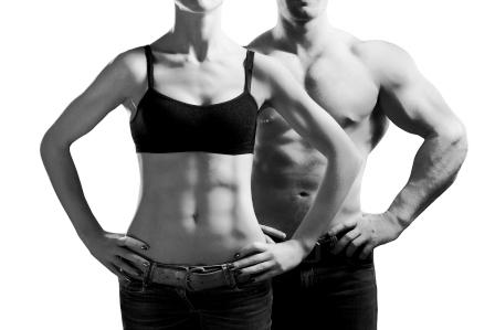 chudnutie silny muz a zena