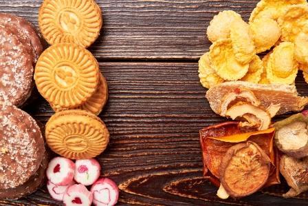 chudnutie sladkosti