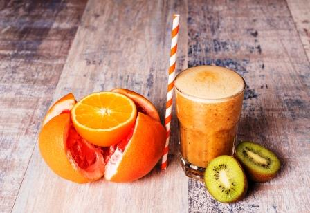 grapefruitove smoothies