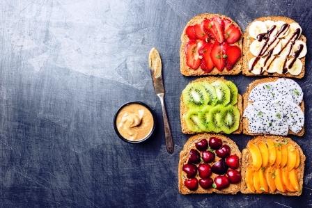 letne sendvice s ovocim