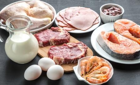 bielkovinová diéta: mäso, mlieko, vajcia