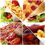 nezdravé jedlá