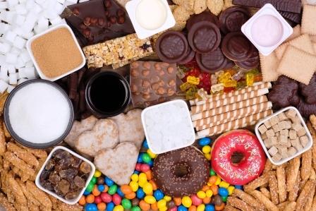 potraviny obsahujuce cukor