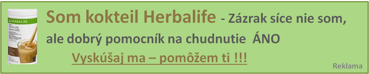 chudnutie herbalife koktail formula 1