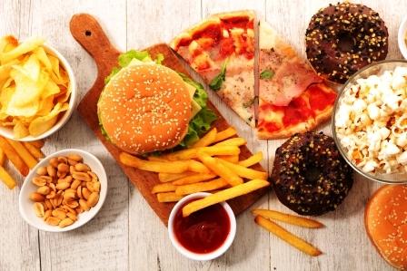 rychle obcerstvenie, nezdrave jedla