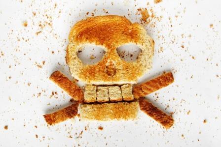 Smrtka z pečiva