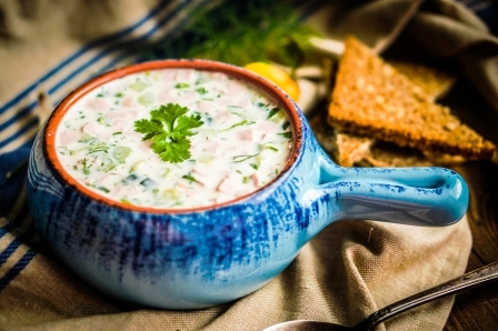 studena letna polievka