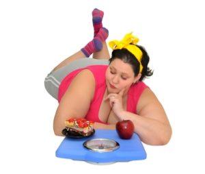 tučná žena - ako schudnúť