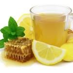 zázvorový čaj s medom