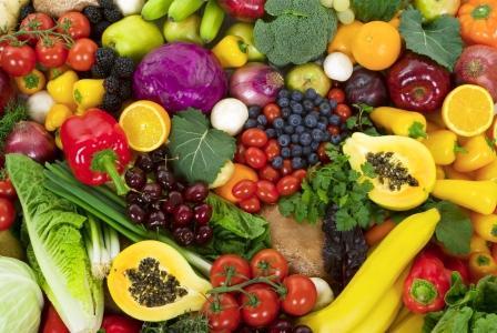 zdrava zelenina a ovocie